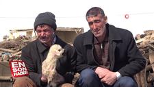 Depremde annesiz kalan kuzular için ağladılar