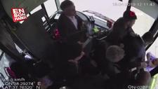 Minibüs şoförü ile yolcu arasındaki kavga