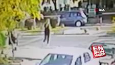 Kırklareli'de yaya geçidinden geçerken araba çarptı