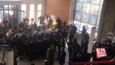 ODTÜ'de teröristleri savunan öğrencilere tepki