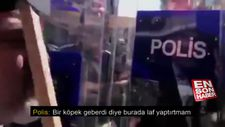 Polisten HDP'lilere: Bir köpek geberdi