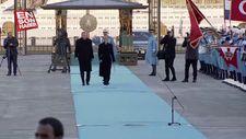 Hırvatistan Cumhurbaşkanı Kitaroviç resmi törenle karşılandı