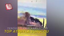 Tanklar YPG karargahını imha etti
