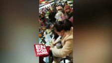 Çin'in Wuhan şehrinde alışveriş kavgası