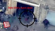 SİHA'dan kaçmaya çalışan rejim askerleri havaya uçtu