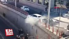 Diyarbakır'daki feci kaza anı