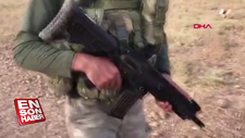 Mehmetçik, milli piyade tüfeği MPT-55 kullanıyor