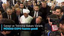 Bakan Varank, MÜSİAD EXPO fuarını gezdi