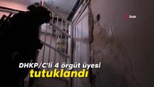 DHKP/C'li 4 örgüt üyesi tutuklandı
