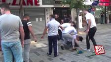 Taksim Talimhane'de meydan kavgası