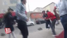 Sultanbeyli'de gençlerin bıçaklı kavgası