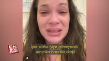 ABD'li hemşire ağlayarak isyan etti