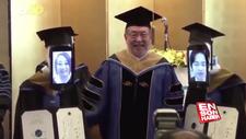 Japonya'da sanal mezuniyet töreni