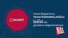 Karamollaoğlu yine Çamlıca Camii çıkışı yaptı
