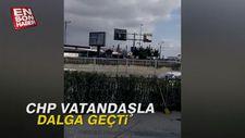 CHP vatandaşla dalga geçti