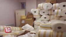 Kaçak üretilen 12 bin maske ele geçirildi