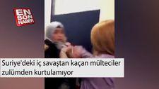ABD'de darbedilen Suriyeli Şeyma hastanelik oldu