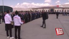 Erzincan'da Binali Yıldırım'a karşılama