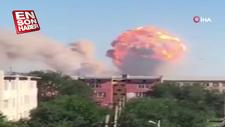 Kazakistan'da askeri mühimmat deposunda patlama