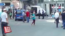 Edirne'de kaçak göçmenleri taşıyan araç kaza yaptı