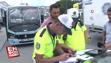 İstanbul polisinden minibüsçülere sıkı denetim