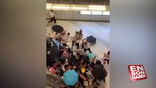 Hong Kong'da kaos devam ediyor