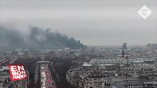 Lyon Garı'nda yangın paniği