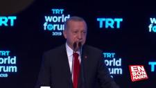 Erdoğan: Kimsenin toprağında gözümüz yok