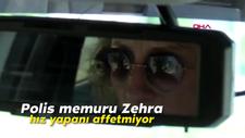 Polis memuru Zehra, hız yapanı affetmiyor