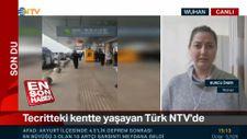 Vuhan'da karantina'da olan Türk yaşadıklarını anlattı