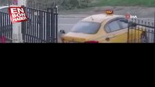 Esenyurt'ta yavru köpeği ezen taksici işten çıkarıldı
