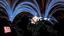 Olası ABD-Rusya nükleer savaşı animasyonu
