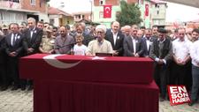 Bitlis'te şehit olan asker son yolculuğuna uğurlandı