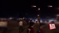 Trabzonspor taraftarına Rize'de taşlı saldırı