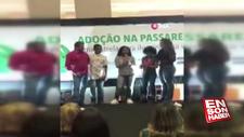 Brezilya'da kimsesiz çocukları podyumda yürüttüler