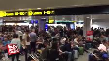 Manchester'da uçak seferleri iptal oldu