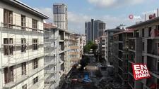 Kartal'da yıkılan binaların yerine dikilen binalar