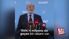 Karamollaoğlu: Suriyelilere yardımı kesmek doğru değil