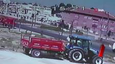 Motosiklete çarpan kamyonet şoförü olay yerinden kaçtı
