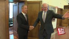 Milli Savunma Bakanı Akar, Jeffrey'i kabul etti