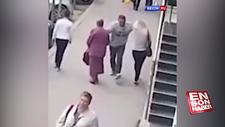 Moldova'da kadınlara yumruklu saldırı