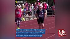 ABD'de yarışmaya katılan 103 yaşındaki kadın rekor kırdı