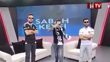 BJK TV'deki skandal rap performansı
