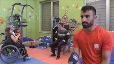 Şampiyon engelli haltercinin hedefi milli takım