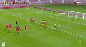 Boupendza'dan klas frikik golü