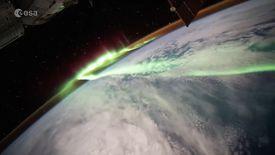 Fransız astronottan etkileyici aurora görüntüsü