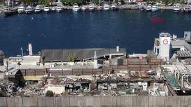 İstanbul Boğazı'nın ortasında moloz yığını: Galatasaray Adası