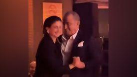 Fatih Terim kızı Buse Terim Bahçekapılı ile dans etti