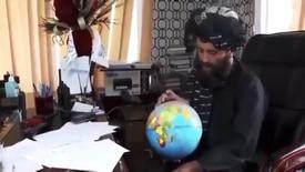 Taliban'ın atadığı vali, Afganistan'ı haritada bulamadı